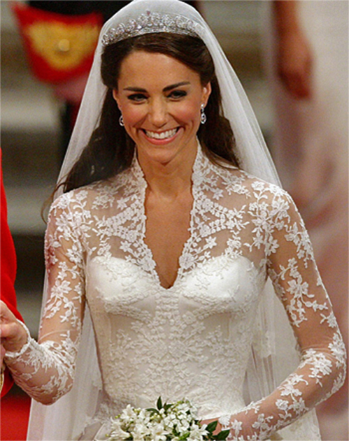 Kate the great the muses women who wore it right for Wedding dress princess kate